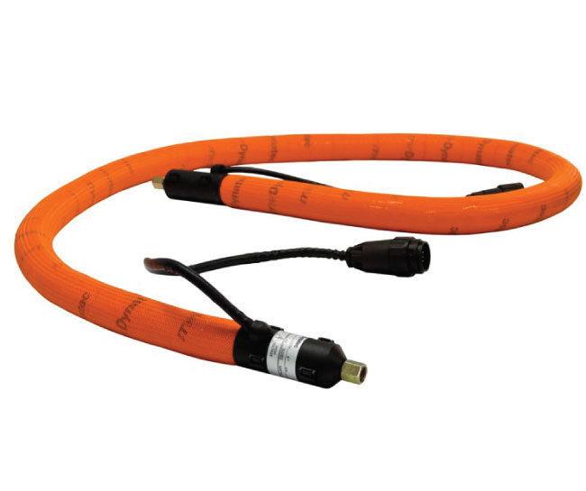 Hot melt adhesive supply hose